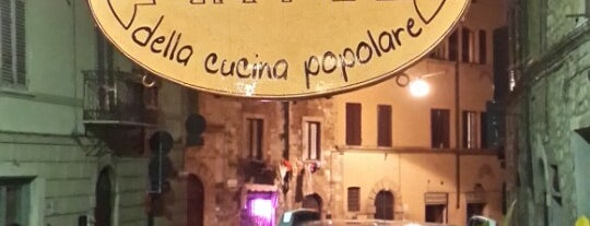Officina della Cucina Popolare is one of Locais salvos de Teddy.
