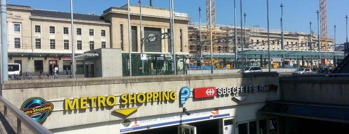 Gare de Genève-Sécheron is one of Stations, gares et aéroports.
