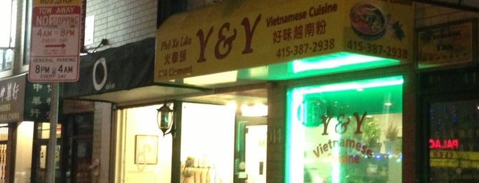 Y & Y Vietnamese Cuisine is one of San Francisco 3.