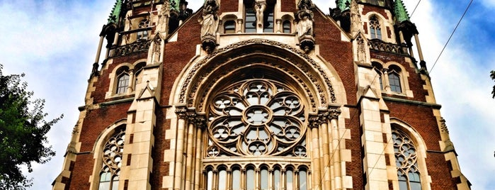 Церква святих Ольги і Єлизавети is one of Lviv.