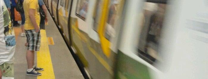 Kadıköy - Tavşantepe Metrosu (M4) is one of İstanbul'daki Raylı Hatlar.