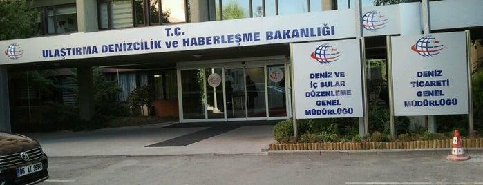 T.C. Ulaştırma Denizcilik ve Haberleşme Bakanlığı is one of Burak'ın Beğendiği Mekanlar.