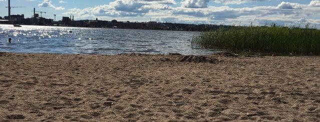 Kivinokan uimaranta is one of Helsingin luontopaikkoja joita en vielä tunne.