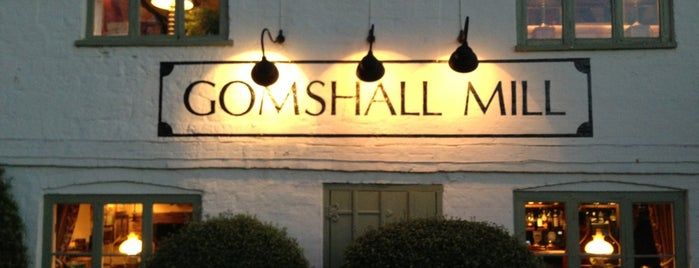 Gomshall Mill Inn is one of Locais curtidos por Constantine.