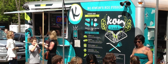 Koi Fusion Truck is one of @VNL's Guide to PDX.