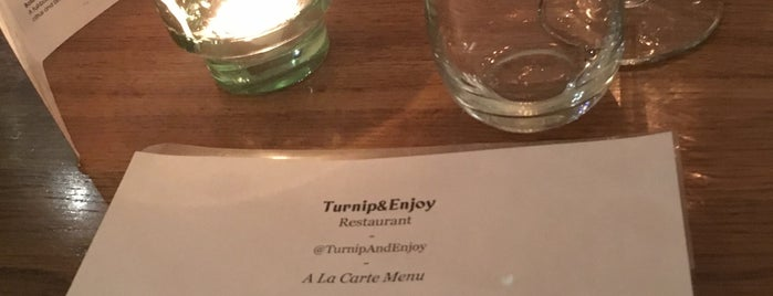 Turnip & Enjoy is one of Tempat yang Disukai Azad.