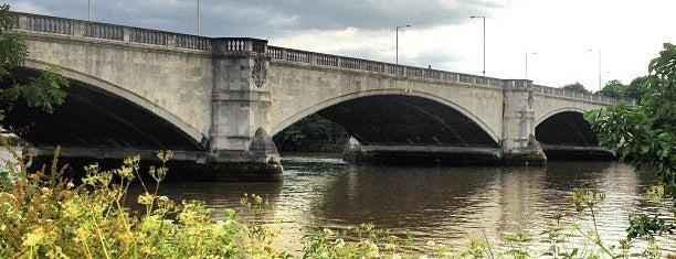 Chiswick Bridge is one of Tatiana : понравившиеся места.