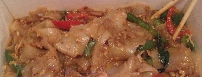 Lanxang Lao Thai Cuisine is one of Tempat yang Disukai Brian.