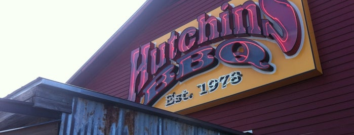 Hutchins BBQ & Grill is one of Texas Monthly's Top 50 BBQ Joints in Texas.