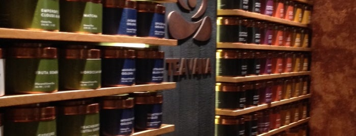 Teavana Fine Teas + Tea Bar is one of Cafe.