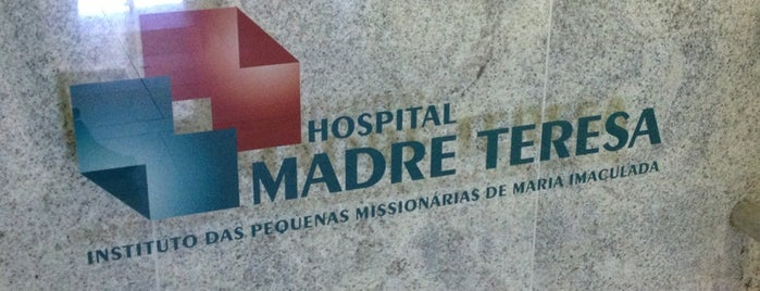Hospital Madre Teresa is one of Mateus 님이 좋아한 장소.