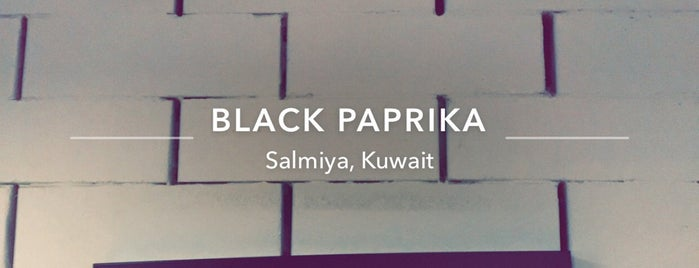 Black Paprika is one of Ba6aLeEさんの保存済みスポット.
