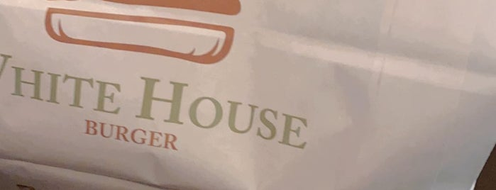 White House Burger is one of Locais curtidos por Abdullah.