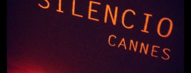 Le Silencio Cannes is one of Locais salvos de Julia.