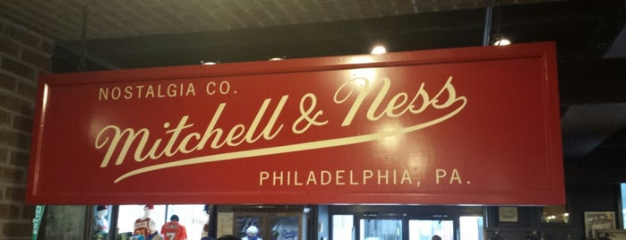 Mitchell & Ness is one of USA Philadelphia.