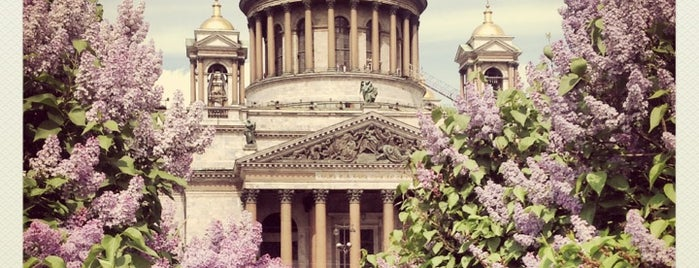 Saint Isaac's Cathedral is one of Питер я твой.