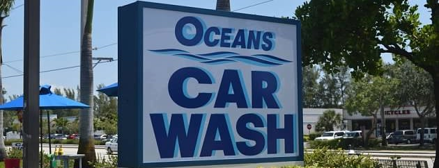 Oceans Car Wash & Detail Center is one of Lugares favoritos de Rebecca.