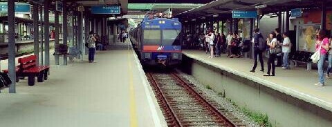 Estação Prefeito Celso Daniel-Santo André (CPTM) is one of Eduardoさんのお気に入りスポット.