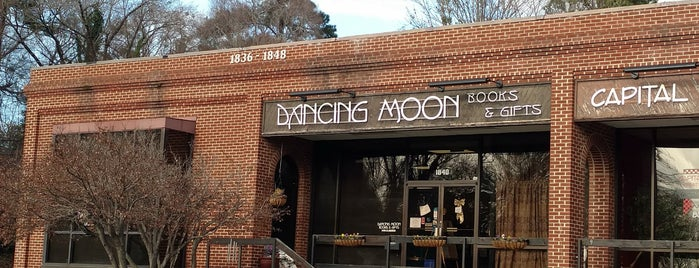 Dancing Moon Books & Gifts is one of If RDU was an ice cream.. this would be its flavor.