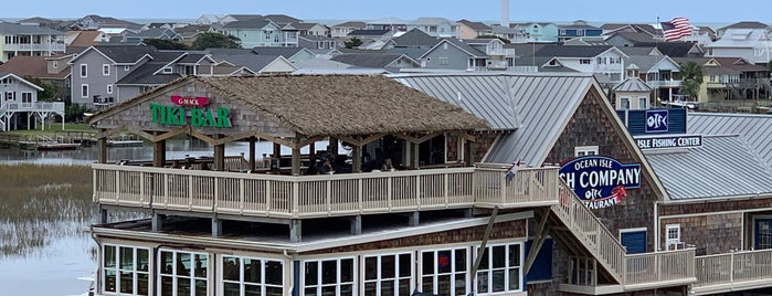 Ocean Isle Fish Company Restaurant is one of ocean isle.