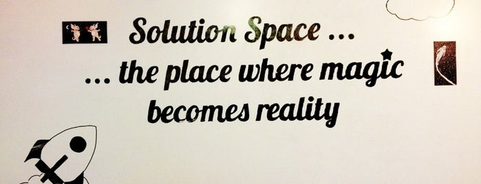 Solution Space is one of STARTUP Hotspots.