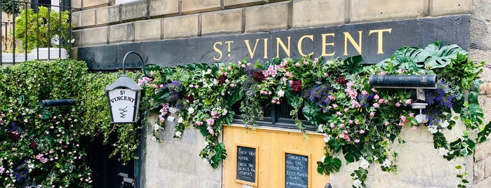 St Vincent Bar is one of Edinburgh.