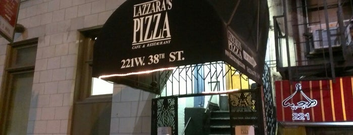 Lazzara's Pizza is one of I ate new york.