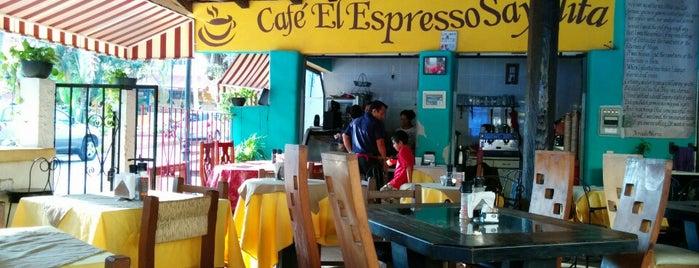Cafe El Expresso Sayulita is one of Sayulita Beach.