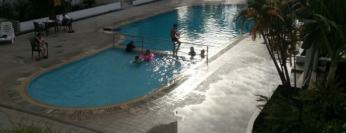 Swimming Pool Likas Square is one of Favorite Arts & Entertainment.