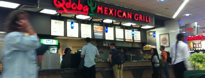 Qdoba Mexican Grill is one of Food.