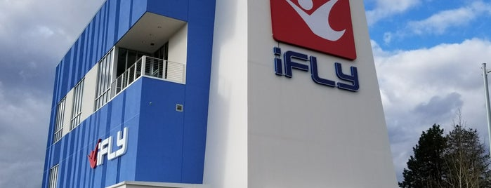 iFly is one of To Do - Portland.