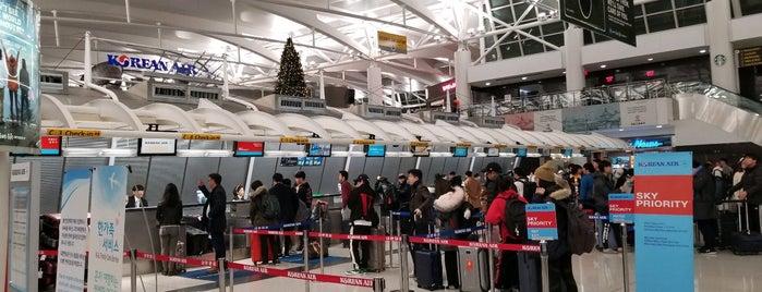 Korean Air Check-In is one of Posti che sono piaciuti a Sung Han.