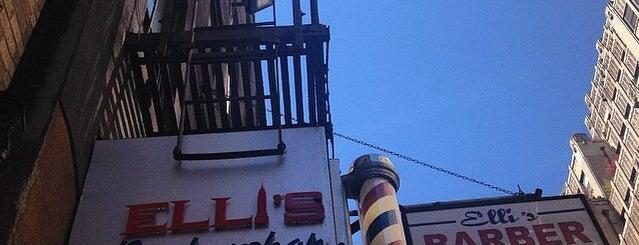 Elli's Barbers Shop is one of Tempat yang Disukai Elena.