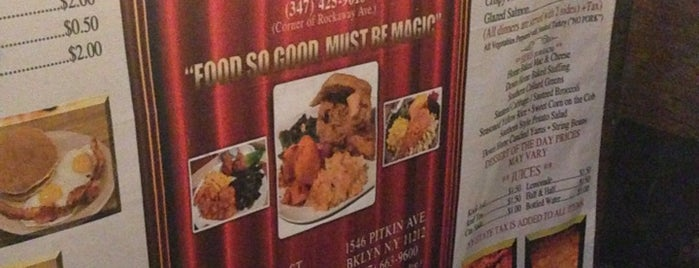 Magic Soul Food is one of NY.