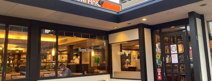 Royal Host is one of 大阪市城東区.