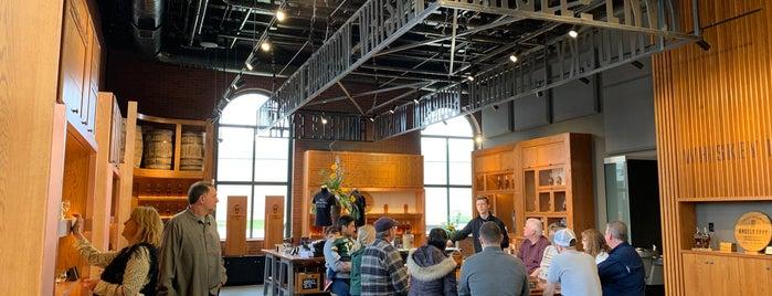 Angel's Envy Distillery is one of St Louis.