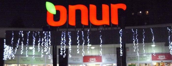 Onur Market Avrupa Konutları is one of MAĞAZALARIMIZ.