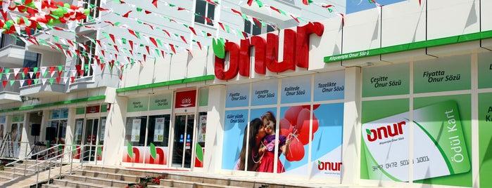 Onur Market Edirne - 1 is one of MAĞAZALARIMIZ.