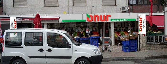 Onur Market Yeşilköy is one of MAĞAZALARIMIZ.