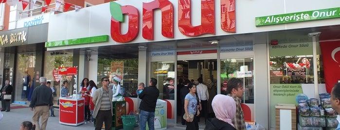 Onur Market Çerkezköy - 2 is one of MAĞAZALARIMIZ.