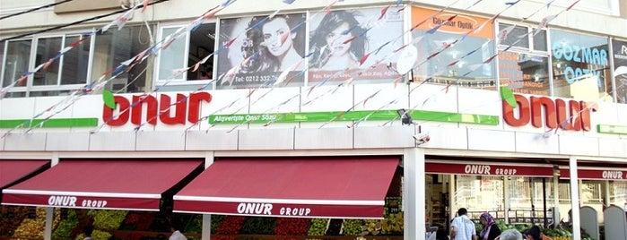 Onur Market Ayazağa is one of MAĞAZALARIMIZ.