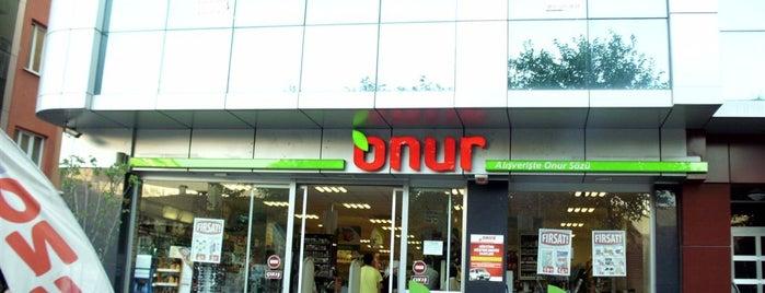 ONUR MARKET Göktürk is one of MAĞAZALARIMIZ.