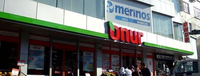 Onur Market Esenyurt - 1 is one of MAĞAZALARIMIZ.