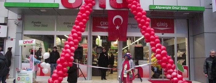 Onur Market Bakırköy - 2 is one of MAĞAZALARIMIZ.
