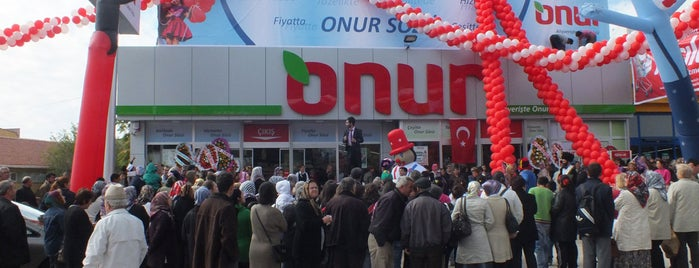 Onur Market is one of MAĞAZALARIMIZ.