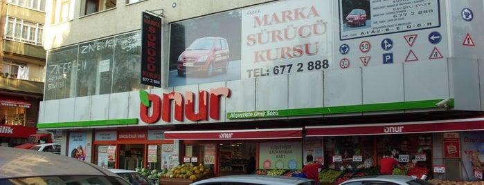 Onur Market Bahçelievler - 2 is one of MAĞAZALARIMIZ.