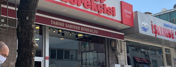 Tarihi Sarıyer Börekçisi is one of Locais curtidos por OrçuN.