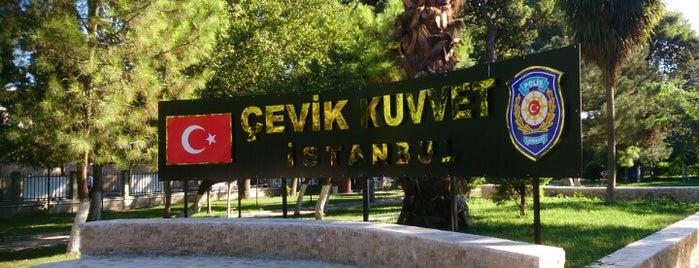 Bayrampaşa Çevik Kuvvet Şube Müdürlüğü is one of İstanbul 2.