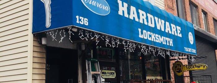 Aurora Hardware & Locksmith is one of Tempat yang Disukai Kristi.