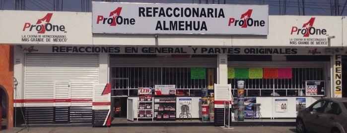 Refaccionaria Almehua Campus Pachuca is one of Locais curtidos por Adela.